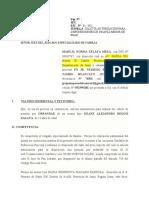 SOLICITA AUTORIZACIÓN PARA DISPONER BIENES DE INCAPAZ MENOR DE EDAD ok