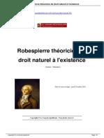 Robespierre-th-oricien-du-droit-naturel-l-existence_a381