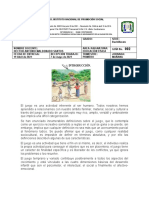 Guia No. 002 Ed. Fisica Juegos