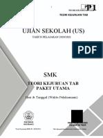 SOAL US MGMP TAB 2021 (PAKET UTAMA)