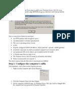 Windows Server 2003 Note