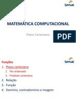 03 - Plano Cartesiano e Funções