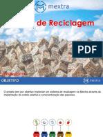 Projeto Reciclagem - escopo