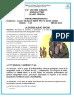 Desigualdad Social Maria Gañan, Maria Jose Bravo, Julian Salazar