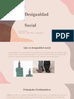 Desigualdad Social-ética