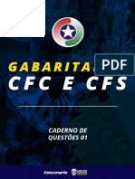 Gabaritando CFC e CFS PMSC Caderno 1