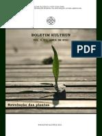 Boletim Kultrun - Revolução das Plantas
