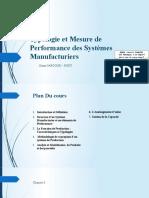 Modélisation Et Typologies de La Performance Des Systèmes Production 3GM [Autosaved]