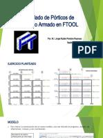 Modelado de Pórticos de Concreto Armado en FTOOL