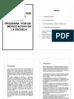Guía por Tarjetas Por un Mexico Activo