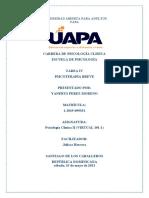 Psicología Clínica II TAREA 4