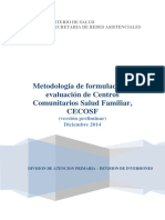 METODOLOGIA CECOSF 2015 Version Preliminar