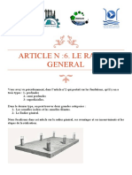 Article N 6 les radiers