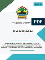 Panduan KTSP SMA Provinsi Jawa Tengah