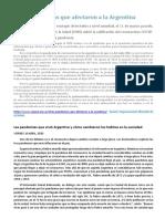 Otras pandemias que afectaron a la Argentina