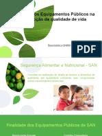 Impacto dos Equipamentos Públicos na promoção da qualidade de vida