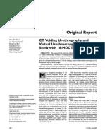 CT Urethrography