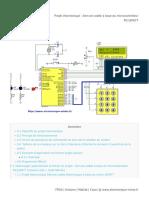 Projet Électronique _ Serrure Codée à Base Du Microcontrôleur PIC16F877