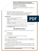 METHODOLOGIE DE LA DISSERTATION ECONOMIQUE 2017