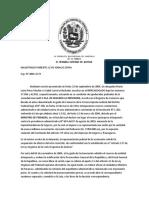 Sentencia SPA 06-06-2006- numero 1441 Caso SEGUROS LA PREVISORA C. A contra Ministerio de finanzas- Principio de Legalidad