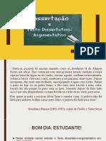 Aula Do Capitulo 5 - Texto Dissertativo-Argumentativo