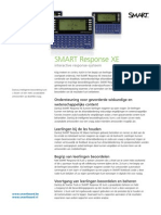 Productblad SMART Response XE - NL