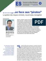 """L'entreprise face aux """"pirates"""" - Note d'analyse géopolitique n° 16"""