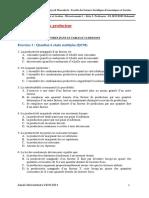 Série 3 TD Microeconomie 1 G6 Solution QCM