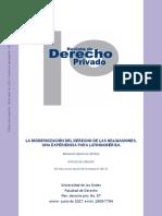 3. Quintana, A. Modernización del Derecho de Obligaciones LEIDA