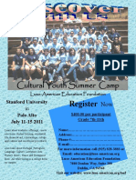 2011 Summer Camp Flyer