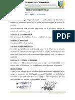 EspecificacionesTecnicas FichaTecnicaAII Aramango Bagua Aramango