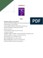 ALTROVE 3 - RITORNO AD ELEUSI - GILBERTO CAMILLA