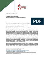 Carta de defraudados Santander a AMLO