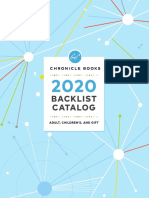 Chronicle Books 2020 Complete Backlist