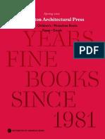 Princeton Architectural Press 2021 Spring Catalog