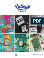 Ridley's Games Spring 2021 Catalog