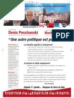 Profession de foi de Denis Peschanski et Marité Charrier