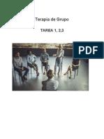 Tarea 1,2,3 Terapia de Grupo (1) Terminada uapa