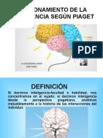 Funcionamiento de La Inteligencia Según Piaget