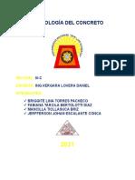 TECNOLOGÍA DE CONCRETO TRABAJO N° 01