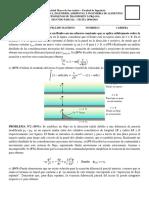Segundo Examen Parcial Fenomenos de Transporte i (Prq-501) - Solucionario