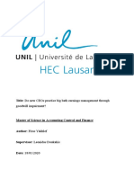 Master-thesis-lausanne