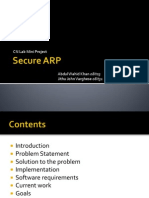 Secure Address Resolution Protocol by Wahid311