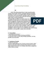 makalah Manfaat Teknologi Internet Bagi Pendidikan