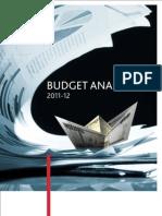 BDO Budget Analysis 2011-12
