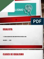 11. Idealismo