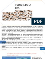 MORFOLOGÌA DE LA PALABRA (2)