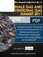 Shale Gas  Unconventional Gas Summit Brochure - CR