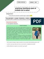 DÍA 1 - FICHA DE  CIENCIA Y TECNOLOGÍA - LUNES 24 MAYO