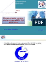 interna izobrazba - dokumentacija ISO 9001